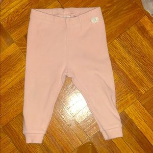 Zara baby pink leggings